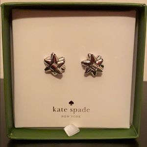 Kate Spade BOURGEOIS BOW BOXED STUDS